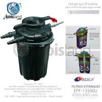 Filtro Presurizado para Estanque EPF-13500u con luz UV