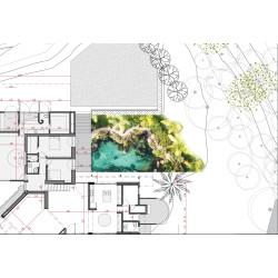 Servicio de diseño de lagos, estanques y piscinas
