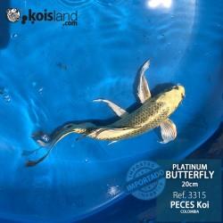 REF.3315 - Platinum Butterfly 20cm