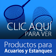 Productos para acuarios y estanques